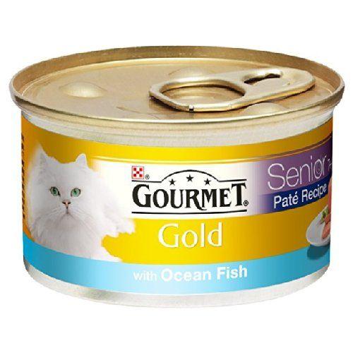 Gourmet Senior Gold Pate con Ocean Fish 85g , mascotas