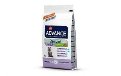 Advance  – Alimento para gato  esterilizados hairball 10 kg.
