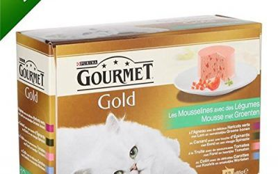 Gourmet Gold espuma de verduras–12x 85g (X8)–para gato