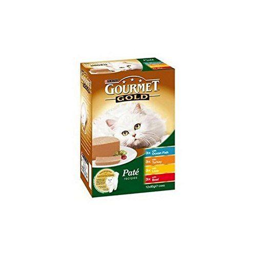Oro Gourmet en pate Variété Mixta comida para gatos 12x 85g (de 1,02kg)