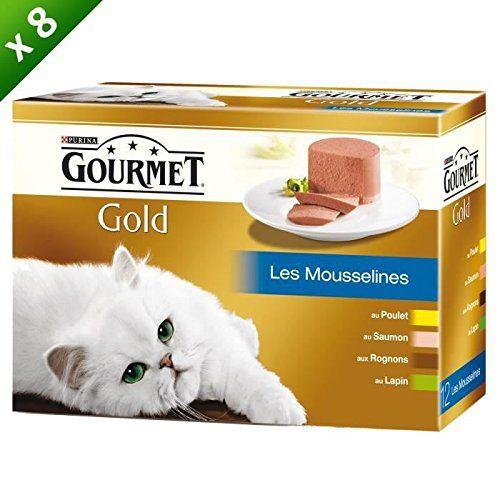 Gourmet Gold Coffret–para gato–(X8)