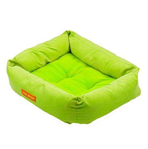 cama de perrito Sannysis perrera Casa para mascotas 42cmX35cmX13cm (Verde)