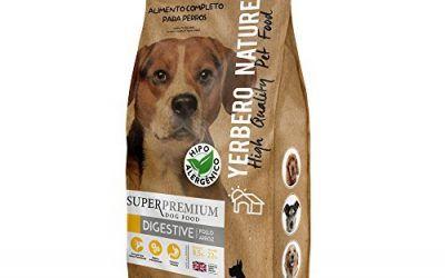 Yerbero NATURE DIGESTIVE comida hipoalergenica para perros 12kg , mascotas