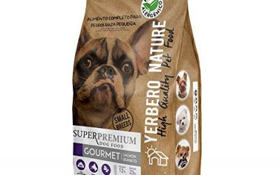 Yerbero NATURE GOURMET comida para perros raza pequeña 3kg