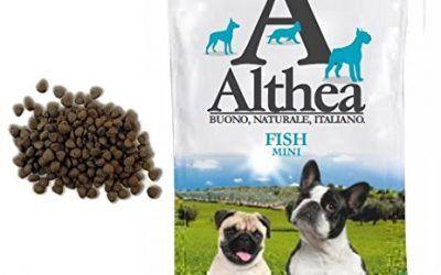 Althea Fish Mini 1kg–Pienso monoproteiche al pescado para perros de talla pequeña, naturales al 100%