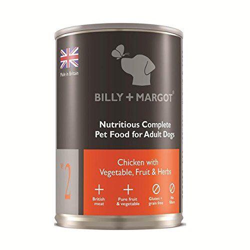Billy + Margot 60% de pollo completa Alimentos húmedo para perros 395g