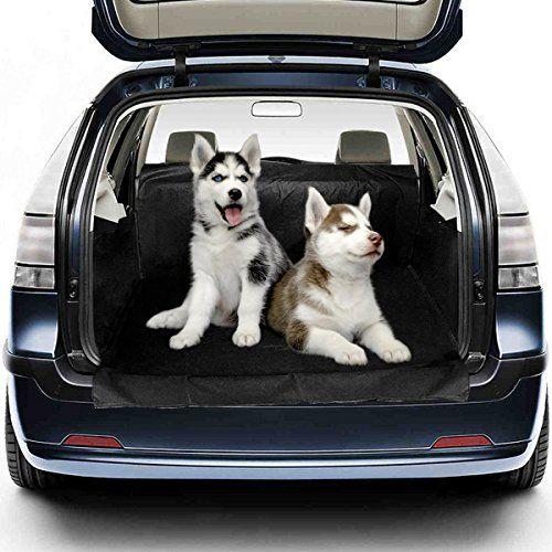 Migimi Funda Impermeable para Mascotas, Impermeable Manta Funda para Perro Asiento Cubre Coche Car Cubierta Cubrir Protección, para Asiento de Coche 155*104*33 Negro , mascotas