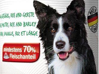 Mac 's húmedo Forro pollo y cordero para perros getreidefrei 70% Carne Porcentaje 400g