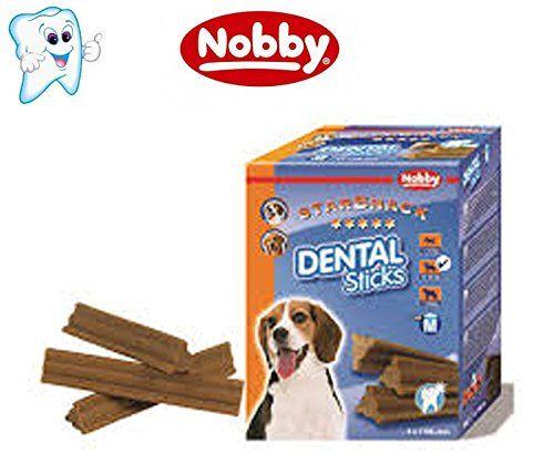 DENTAL STICKS dental limpia y elimina el sarro dental de tu perro 28 barritas snack perros de 12 a 20 kg.