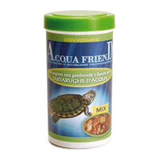 Record Mezcla de camarones y arcos para tortugas de agua de alimentación