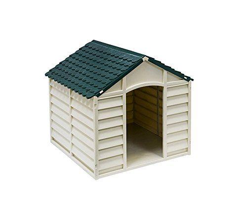 315917 caseta de perro hecha de resina 72x71 5x68 cm de - Caseta perro resina ...