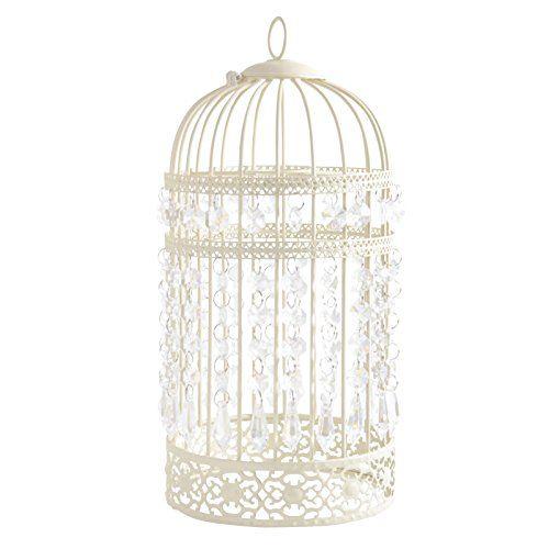 Estilo antiguo jaula jaula de pájaros, montaje en techo, para decoración
