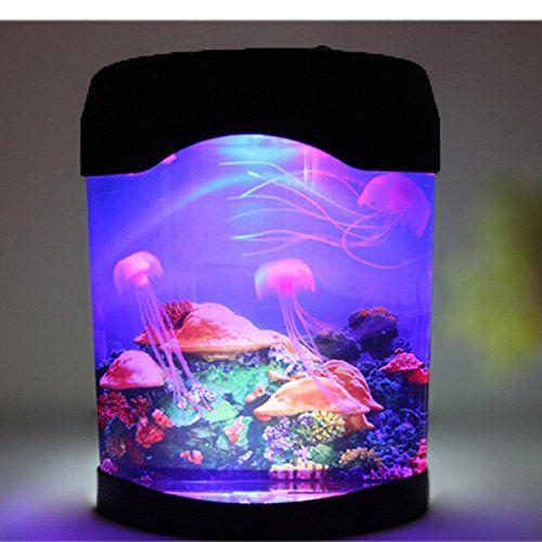 Gearmax® Antecedentes del acuario de las medusas de la simulaci-n luz de la noche