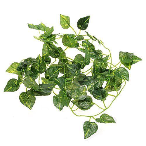 2m artificial Ivy Leaf Garland plantas Vine falso follaje flores para reptiles decoración del hogar