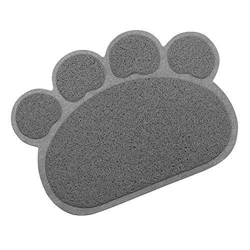 Tera Alfombrilla Estera Kleine elastico PVC Diseño De Huellas Colchón Mascotas Juego de mesa Baños de espacio mesa Esterilla Para Gatos Perros y Gatos , mascotas