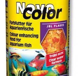 Novo color 250ml Comida Principal En copos para reforzar la piedra de los colores , mascotas
