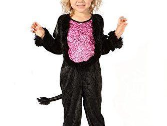 Disfraz de gata para niña , mascotas