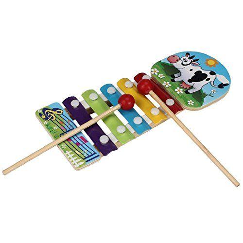Tongshi Bebé Niños Juguetes Musicales xilófono sabiduría preparación de instrumentos de madera , mascotas
