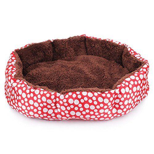 JUNGEN® Cama para Mascotas Suave y acogedor perro mascota nido cálido nido mascota algodón Para Perro gato Mascota, 36*30cm