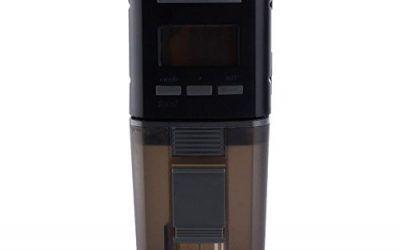 MagiDeal Alimentador Automático de Peces para Acuario Estanque Charca Digital Lcd Pescado Alimentador con Temporizador Accesorio de Estanques – 4#
