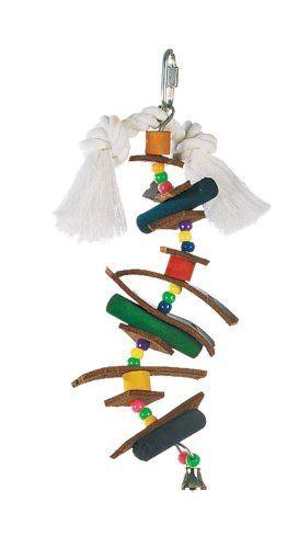 Vida Mundo selva madera Pincho pájaro juguete