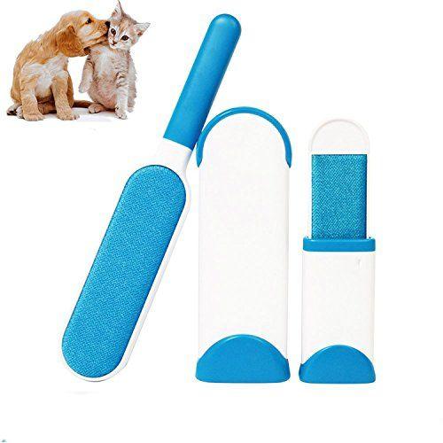 Cepillo Limpiador Quita Pelos de Perro Gato Mascotas Pelusas para ...
