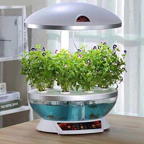 Máquina automática de cultivo de verduras Copas de harina de pescado Decoración de vegetales en maceta Potencia 50W Tamaño 410 * 300 * 620 (410) mm Escalable