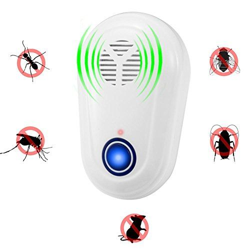Q&D Ultrasonic Pest Repeller Repelente De Plagas Control De Plug In Repellent Seguridad Ambiental , mascotas