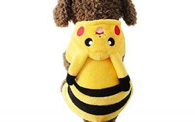 Disfraz de Pikachu para perro y gato (M) , mascotas