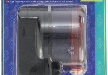 Penn-plax diario doble II funciona con pilas alimentador automático de pescado