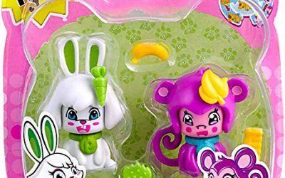 Pinypon – Pack 2 mascotas, conejo y mono. (Famosa) (700012732)