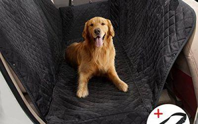 Funda de Asiento para Perros MATCC Cubierta de Asiento para coche Hamaca para Mascotas Protección de Mascotas 150*147cm