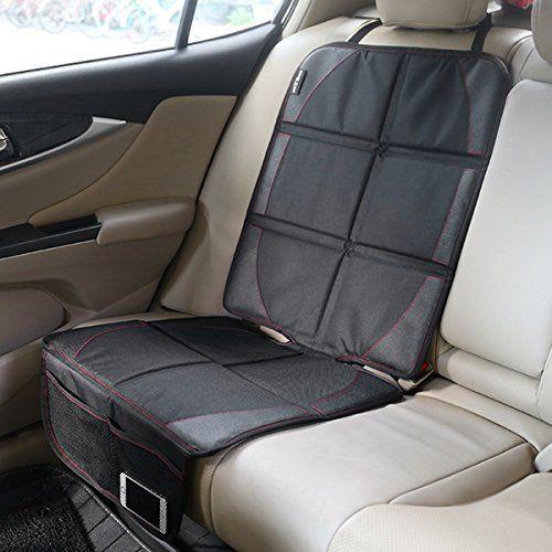 iRegro Protector de asiento de coche- la mejor protección para los asientos de los coches del niño y del bebé, estera del perro – la cubierta protege la tapicería del cuero o del paño del vehículo automotor, satisfacción 100% garantizada!