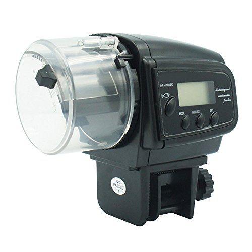 Alimentador autom tico de peces para acuario 81056 for Alimentador automatico peces