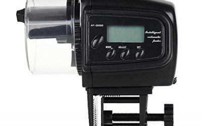 Tanque de peces de acuario comida Comedero temporizador Pantalla LCD automático Manual Auto conveniente