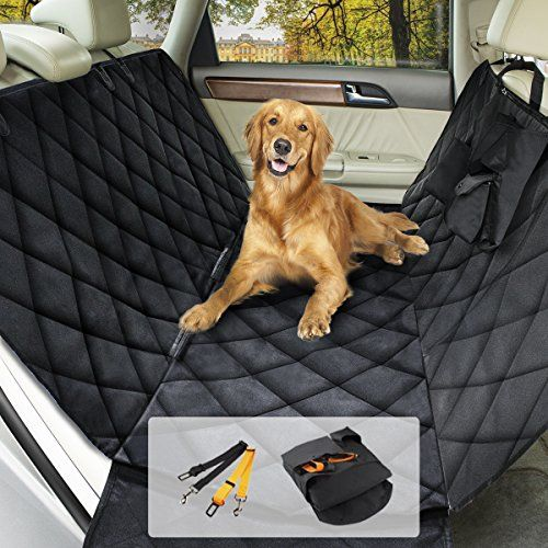 morpilot Cubierta Asiento Coche Perro, Protector de Coche para Mascotas de alta calidad,Manta Animal coche Impermeable Antideslizante de coche para automóvil, camión y SUV