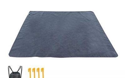Manta De Picnic Manta De Camping Poncho De Lluvia Desparasitación Impermeable Pad Perfecto para La Hierba Playas De Yoga RV Viajar Senderismo 140 * 200 Cm,A