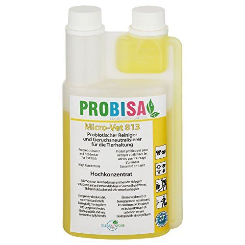 Neutralizadores de olor spray (Probisa Micro-Vet 813) de la orina del gato, perro y los roedores olores – y bio limpiador concentrado 500ml rendimiento 25 litros listos para usar asesino de olor / Removedor de olor