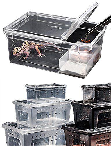 Criaderos portátiles para reptiles de Wear-Beauty, hábitat para: lagartos, salamanquinas, caracoles, ermitaños, crustáceos, ranas, lagartijas tortuguitas y serpientes