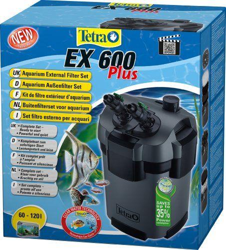 Tetra Set completo de filtro exterior EX 600 plus EX 600
