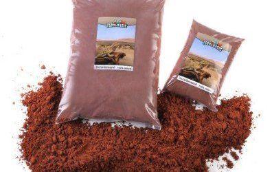 "'terrabasic terrarios Arena ""Desert Red, formbar 5kg"