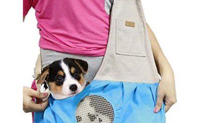 Ylen Pequeño Perro Gato Mascotas Portador de Viaje Transporte Lona Bolsa de Hombro para Perrito Gatito Animales