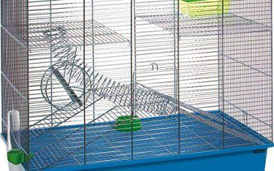 Flamingo Spiral Jaula para roedores , mascotas