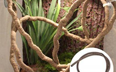 Yanhonin Decor terrario, Vines de diseño decoración para Reptiles Anfibios Reptiles