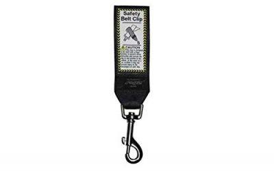 Rogz, Cinturón de seguridad para perros, color negro, Adaptador cinturón de seguridad para perros
