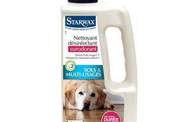 Starwax–Limpiador desinfectante desodorante animal, 1 l