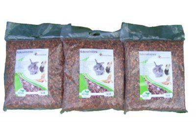 Litera de coco grosera de 75 litros (EUR 0,53 / litro), chips de coco, ropa de cama adecuada como jaula cobertura de tierra para conejos, degus y otros roedores, tortugas, serpientes y otros reptiles