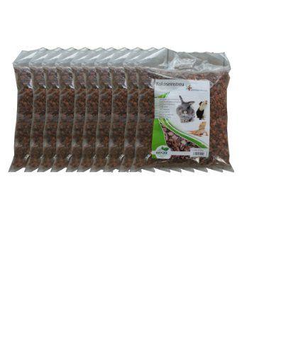 Litera de coco grosera de 100 litros (EUR 0,49 / litro), chips de coco, ropa de cama adecuada como jaula cobertura de tierra para conejos, degus y otros roedores, tortugas, serpientes y otros reptiles