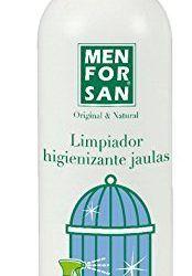 MENFORSAN 54159MFA053 Limpiador Higienizante para Jaulas Aves 1 Litro, Un tamaño , mascotas