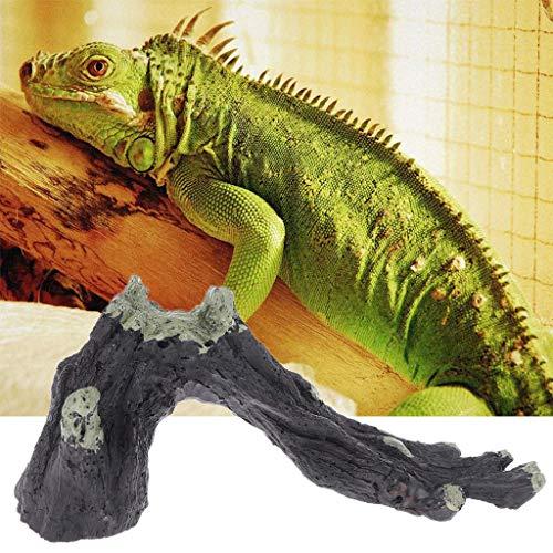 wenjuersty Ramas de Resina para Reptiles, decoración de Acuario, imitación de Madera, escondite para Escalada
